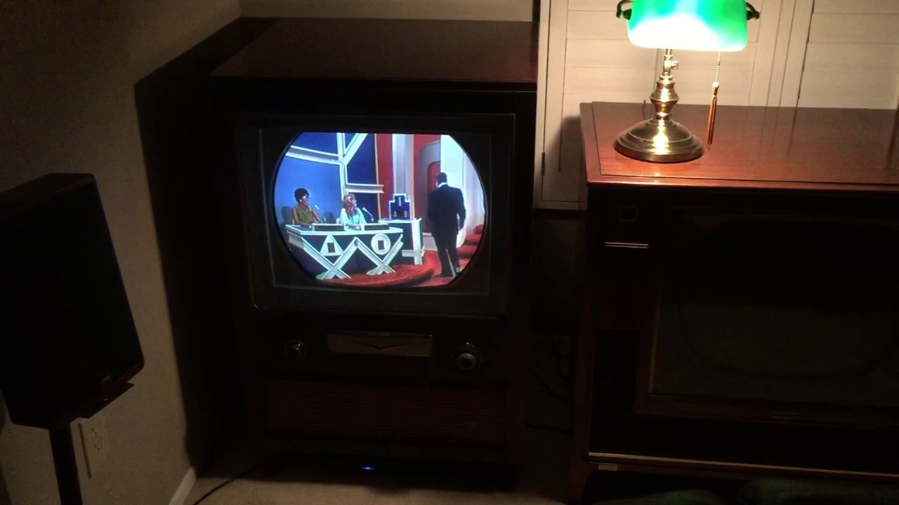 1955 Rca 21ct55 Color Television
