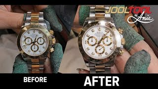 Rolex stainless steel polished on Jooltool