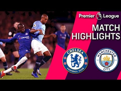 Chelsea v. Man City | PREMIER LEAGUE MATCH HIGHLIGHTS | 12/8/18 | NBC Sports