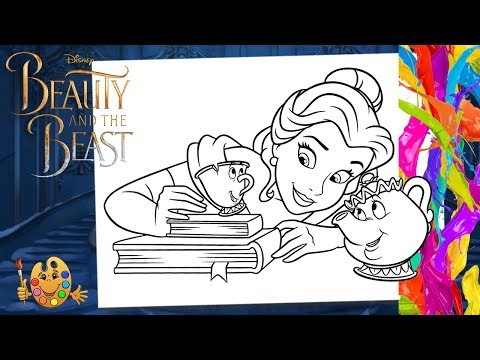 Image result for mrs potts and chip coloring page | Disney ... | 360x480