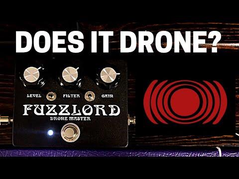 Fuzzlord Drone Master - LM308 RAT - Sunn O))) Guitar Tone