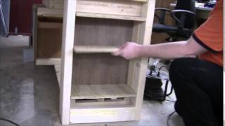 Add Shelves Under The Workbench