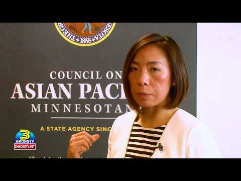 Council on Asian Pacific Minnesotans welcomes everyone during its recent Open House.