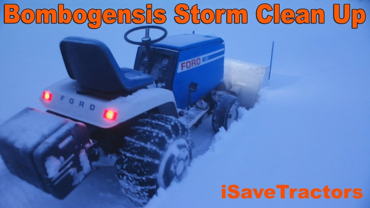 Ford Lgt 125 Garden Tractor Wiring Diagram Bombogenesis Snow Blowing With Snowblower 1280x720