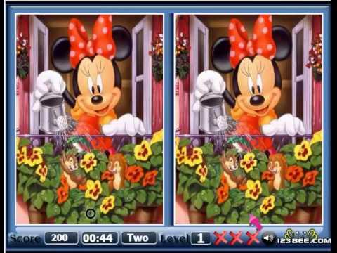 เกมส์จับผิดภาพ Mickey