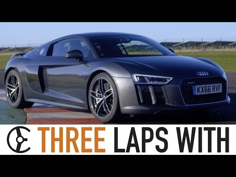 Audi R8 V10 Plus: Three Laps With – Carfection