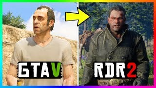 Grand Theft Auto Characters That Appear In Red Dead Redemption 2! (RDR2 SECRET Characters)