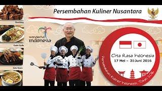 Indonesian Culinary Fair Tokyo 2016