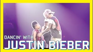 DANCING WITH JUSTIN BIEBER | VLOG #7 | #PURPOSETOURCHILDRENFRESNO