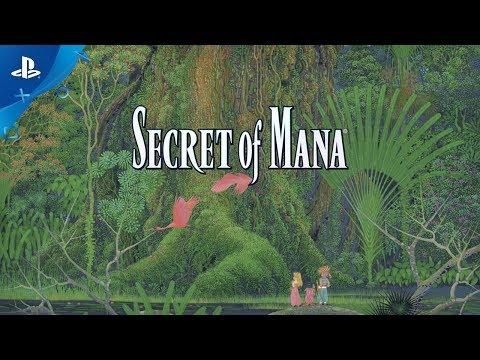 Secret of Mana - Launch Trailer | PS4