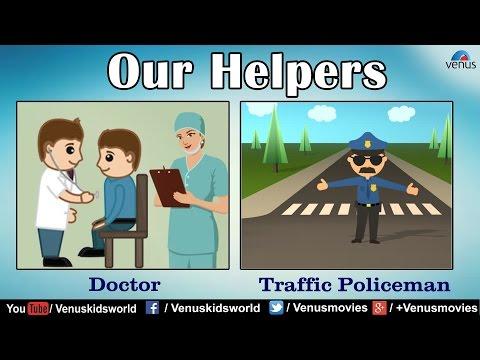 Our Helpers ~ Teacher| Doctor| Police Men