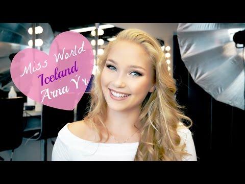 Arna Yr Miss Iceland 2015