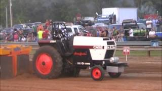 10,000LB ALTERED FARM STOCK TRACTORS AT THE 2013 FRANKLIN COUNTY, IN FAIR PULL FRANKLIN COUNTY YOUNG