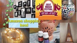 Amazon home decor shopping haul /Huge Amazon sale haul /great Indian festival online shopping haul