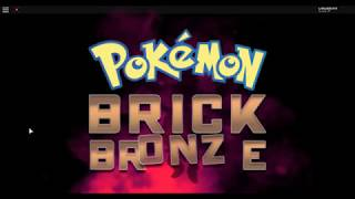 I beat the thief! Roblox Pokemon Brick Bronze Pt 5