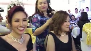 Hoa Hậu Kim Nguyễn đấu giá từ thiện - buổi đấu giá thật là hoan hỷ