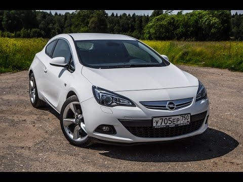 Opel Astra GTC 1,4 л. турбо 140 л.с. (Опель Астра). Драг-тест на канале Посмотрим
