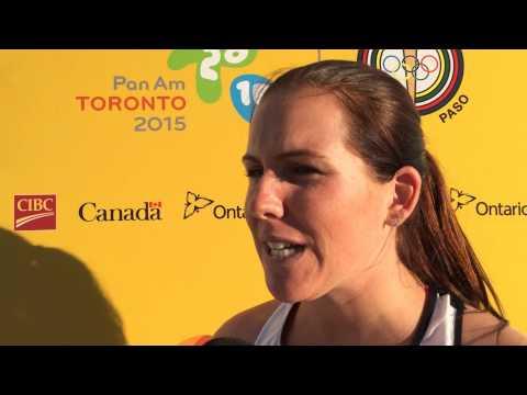 Jeux panaméricains : Entrevue avec Julie Labonté, lancer du poids