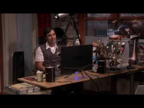 Big bang theory-raj takes decision