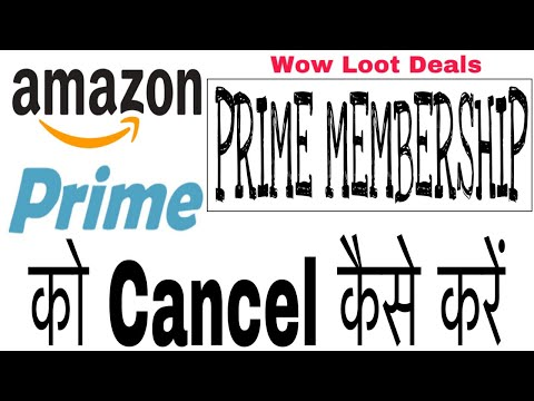 Repeat How To Cancel Amazon Prime Membership | July 2019 by