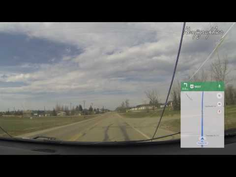 Drive: Swan Lake, Greenview No. 16, AB to Grande Prairie, Alberta