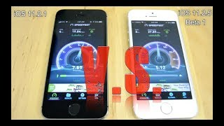 iOS 11.2.1 VS iOS 11.2.5 Beta 1 COMPLETE COMPARISON TEST on IPHONE 5S EDITION