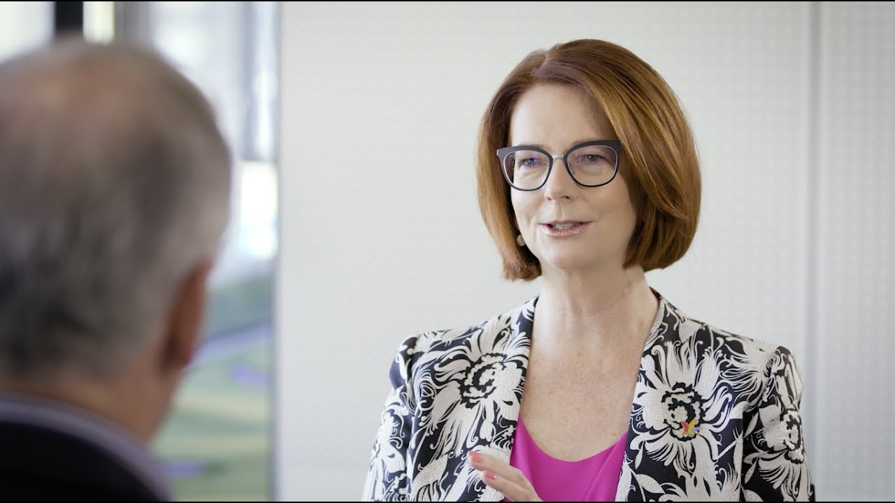 Julia Gillard On The Law Politics And Changing The World