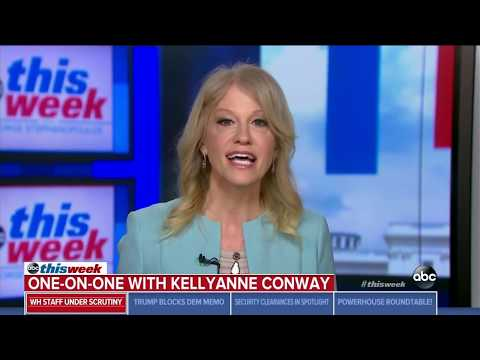 Conway slams Kirsten Gillibrand's criticism of Trump: I will not be lectured by her