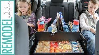 Road Trip Tip: Backseat Car Organizer for Kids