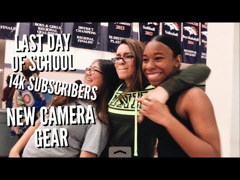 Last Day of School, 14k SUBSCRIBERS & NEW Camera Gear | Ep. 94
