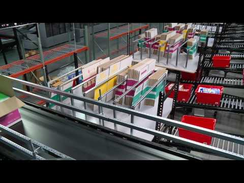 Boxed.com's Fulfillment Center in New Jersey Goes Automated