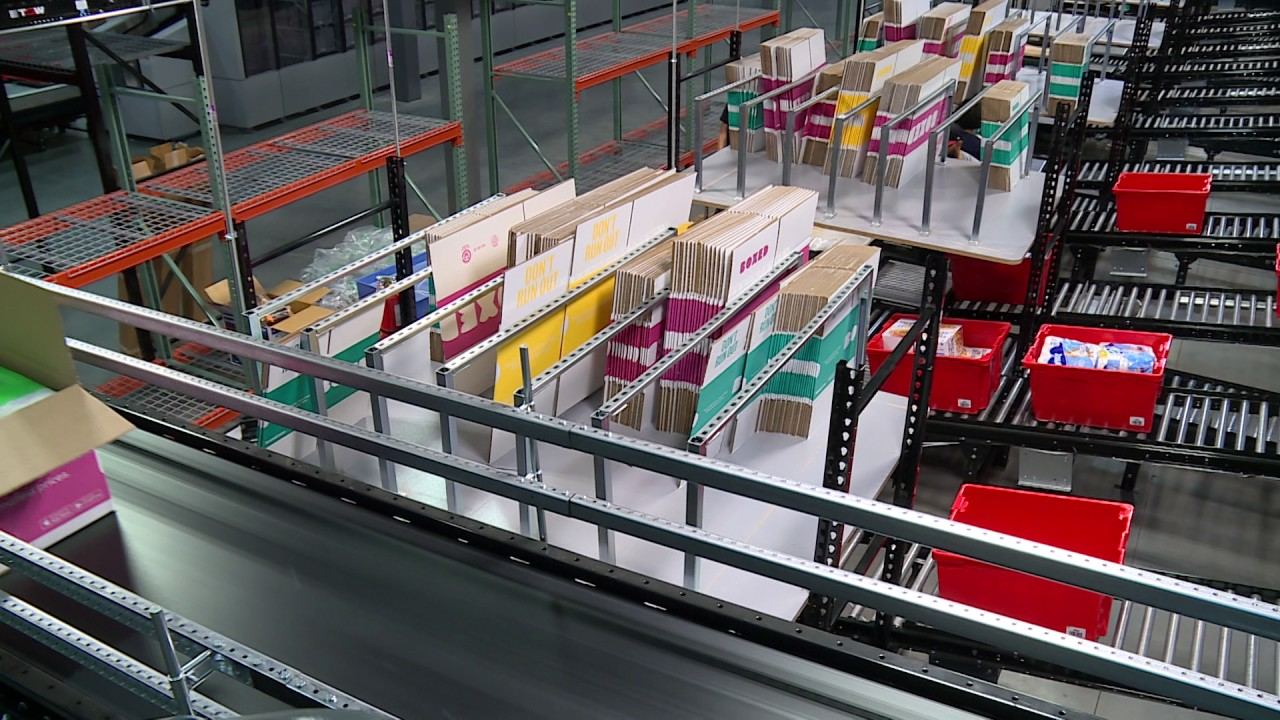 Boxed com's Fulfillment Center in New Jersey Goes Automated | Inverse