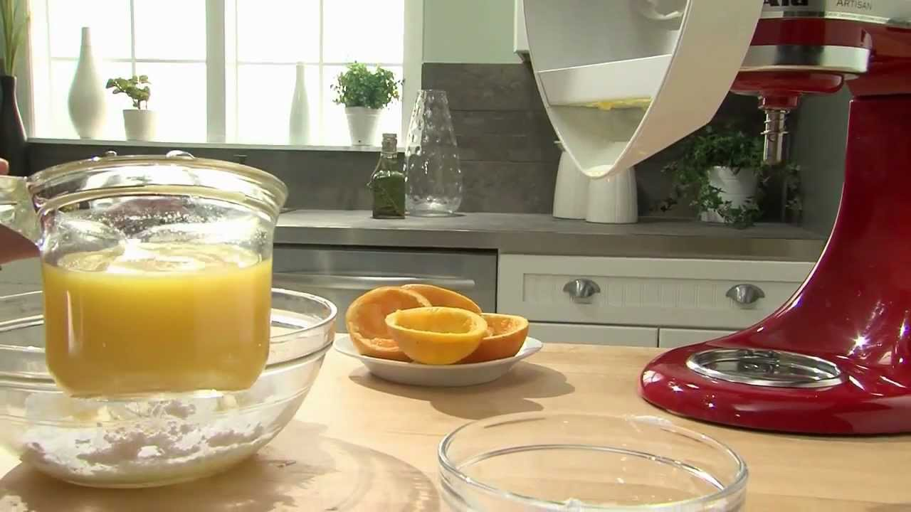 Kitchenaid Juicer Attachments kitchenaid® stand mixer attachment - citrus juicer - youtube