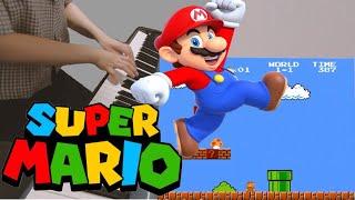 싱크로율 100%   Super Mario Piano Cover