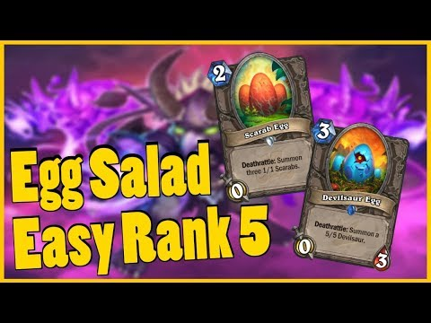 Easy Rank 5 ~ Egg Salad Warlock