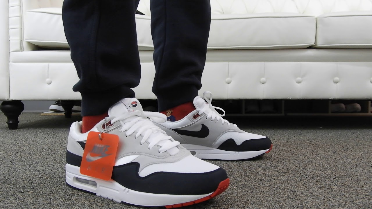 Nike Air Max 1 Anniversary Obsidian On Feet Review!!!!