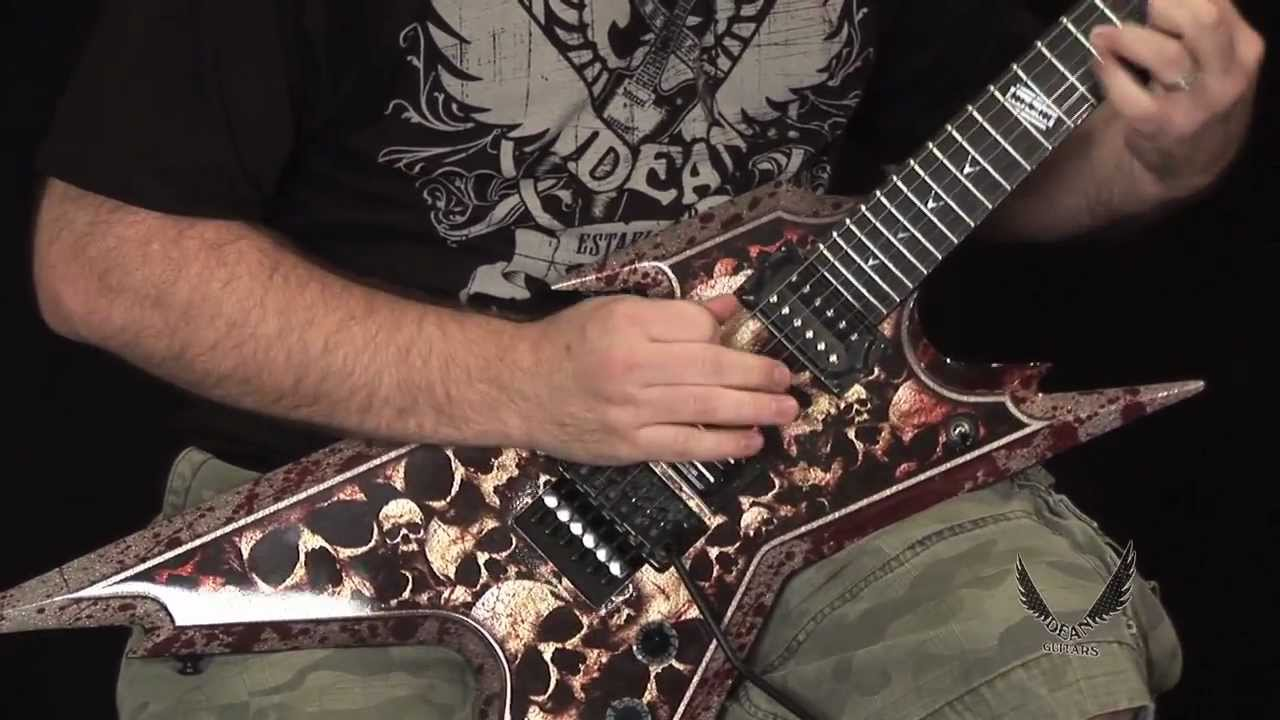 Dean Guitars Razorback Skulls Youtube