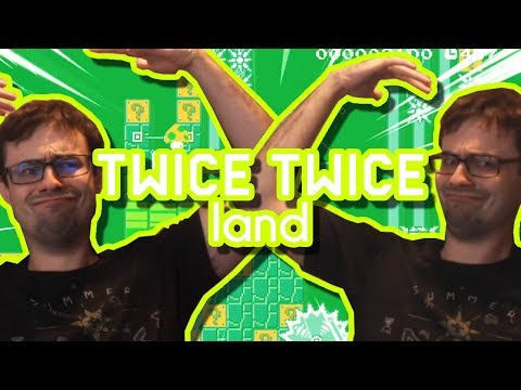 Once Twice Thrice Frice & 2Spoopy4U | Mario Maker Troll Level Design Contest #19