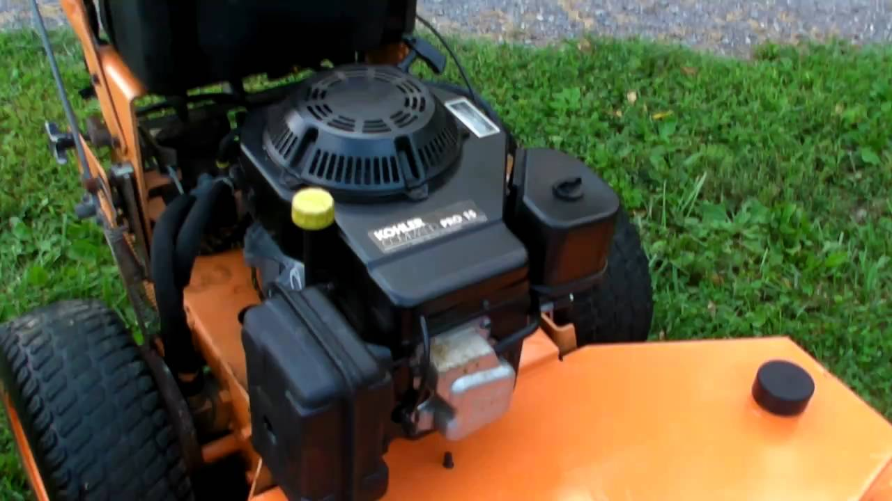 Scag 48 walkbehind commercial mower