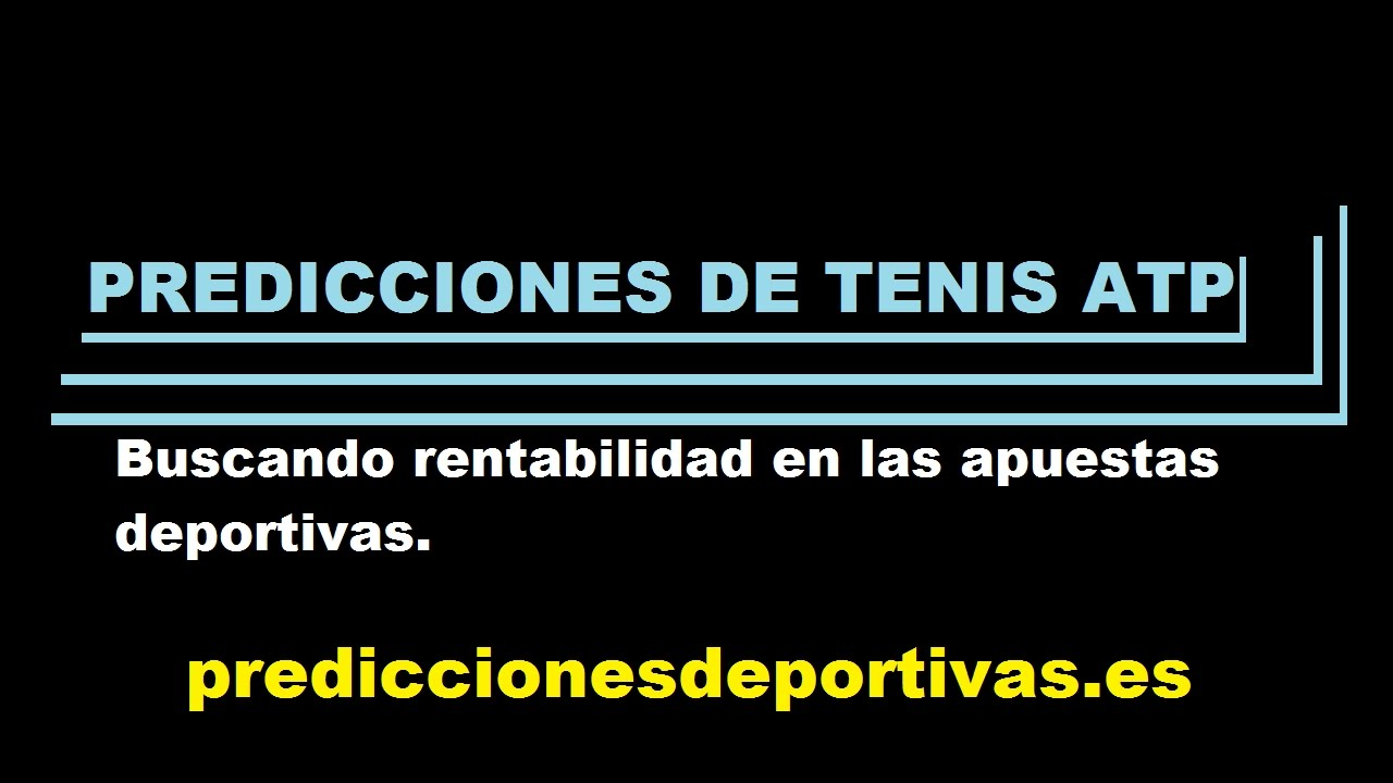 Buscando predicciones de tenis rentables ATP