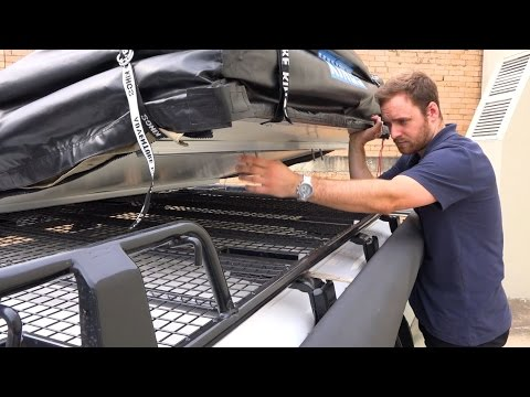 Kings Roof Top Tent installation guide