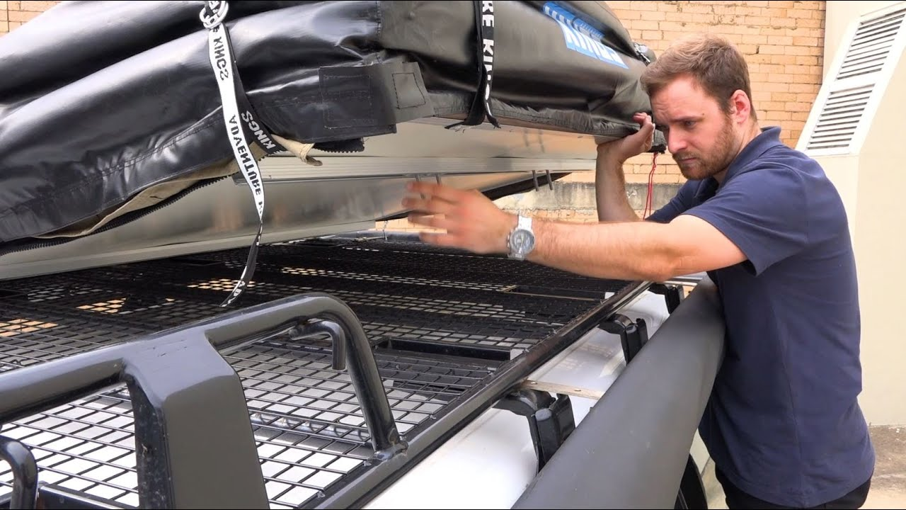 4Wd Supacentre Roof Rack Installation kings roof top tent installation guide
