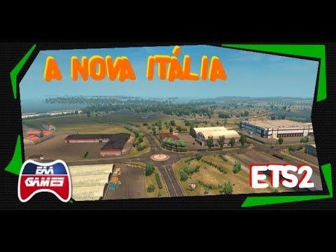 A NOVA ITÁLIA - DLC ITÁLIA - EURO TRUCK SIMULATOR 2