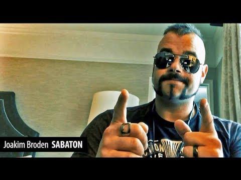 Joakim Broden (SABATON) testimony - Desert band - Crowdfunding Campaign