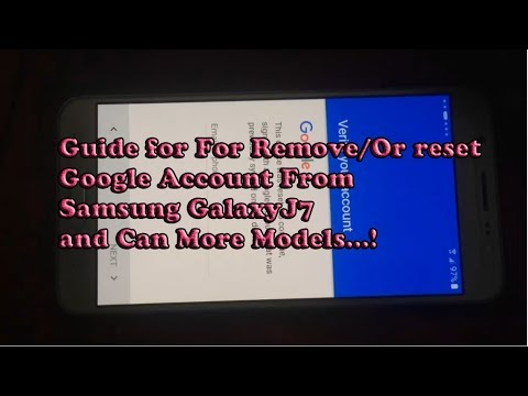 how to delete google account samsung a5