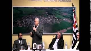 Sessão Solene - Entrega de título de Cidadão Nipoense ao Deputado Federal Nelson Marquezelli