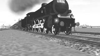 国鉄C51 蒸気機関車 つばめ 列車