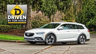 2018 Buick Regal TourX Essence AWD Car Review