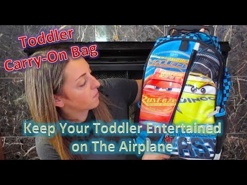 Mexico Travel Series #1 --What's in My Toddler's Carry-On Bag--