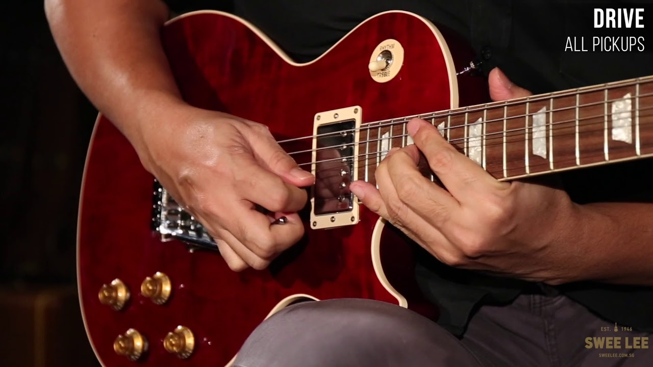 Gibson Alex Lifeson Les Paul Axcess Youtube